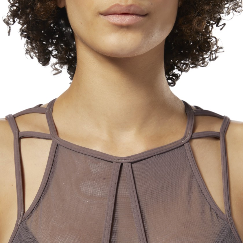 Reebok Women/'s Dance Strappy Bra