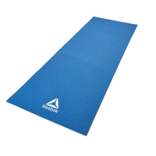 Reebok Double Sided 6mm Yoga Mat Blue Green Blue Reebok Us