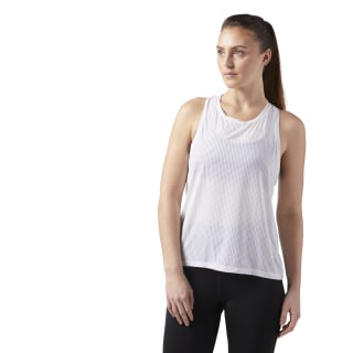 Reebok Womens Perforated Speedwick Tank Top Purple Sports Gym Breathable