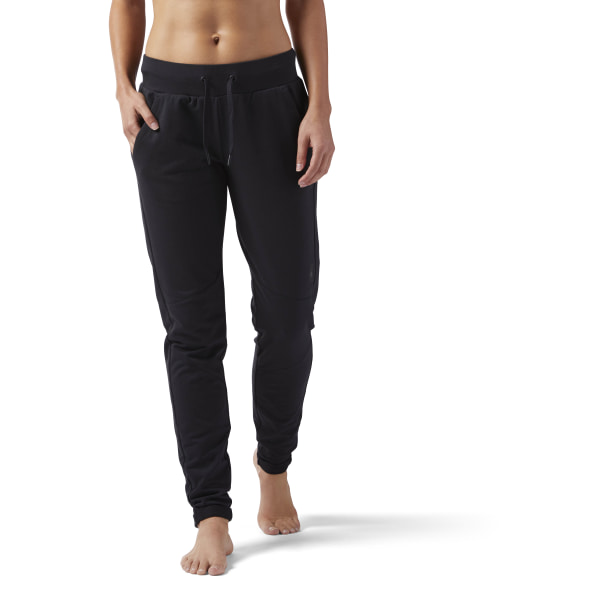 Pantalón de chándal Training Supply Slim - Negro Reebok  412a28d1dcf4