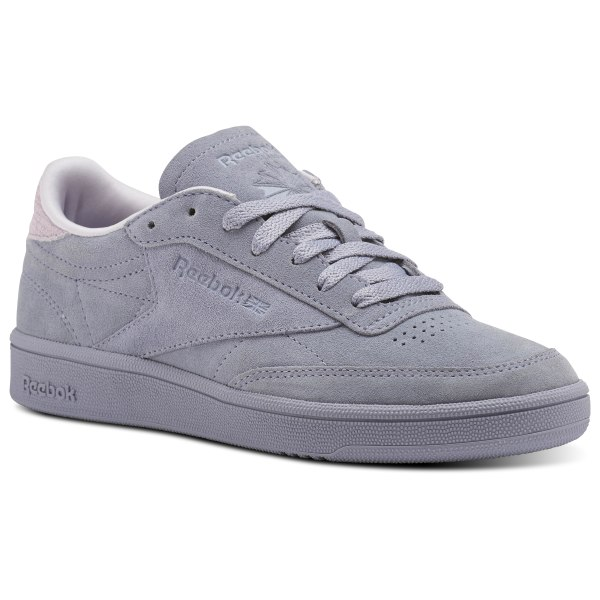 c9effefdf24125 Reebok Club C 85 Nubuck - Purple