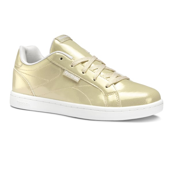 0f518a1ee68db Tenis REEBOK ROYAL COMPLETE CLN new metallic-gold sparkle DV9879