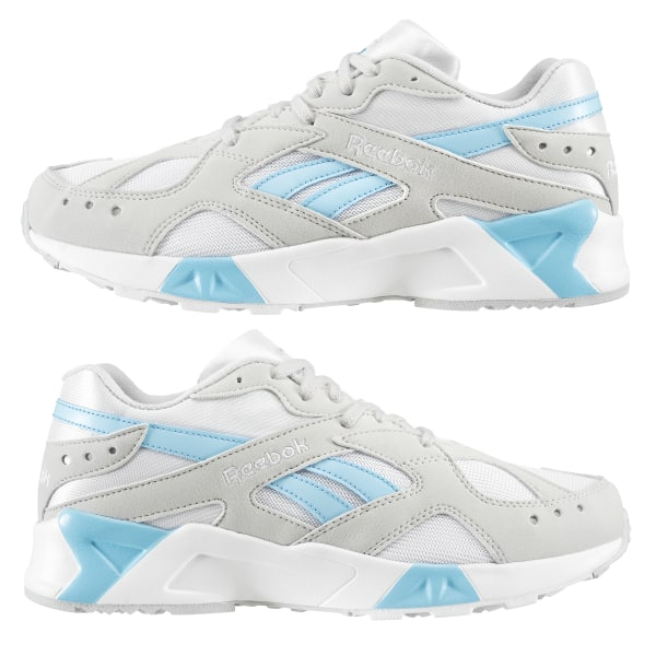 d6849c505556 Reebok Aztrek Enh-Skull Grey White Digital Blue CN7473