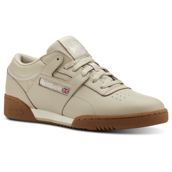 0d40b4f737e0a Reebok Workout Clean MU - Beige