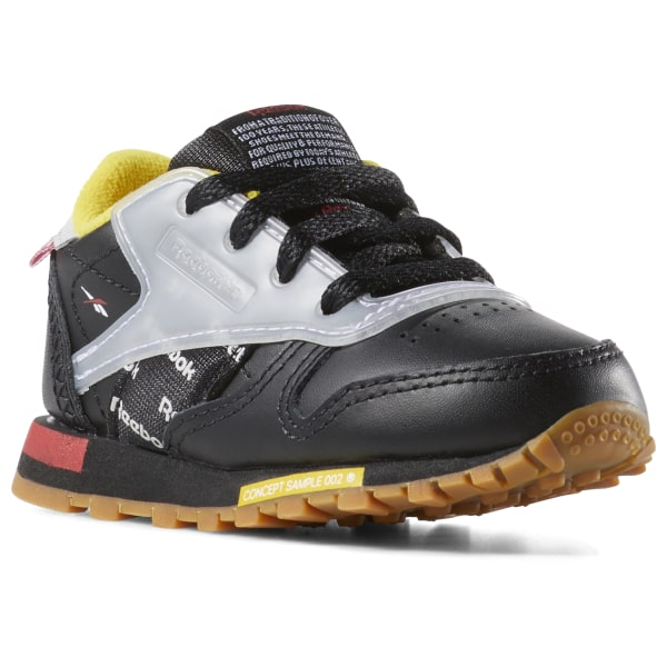 0b002c5a4f33 Reebok Classic Leather Altered - Toddler - Black