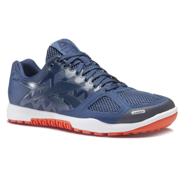 f249a7e4efb75e Reebok CrossFit Nano 2.0 Washed Blue Collegiate Navy Bright Lava White  CN7123