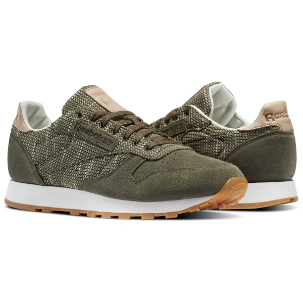 a7b36b666c352 Reebok Classic Leather EBK - Green
