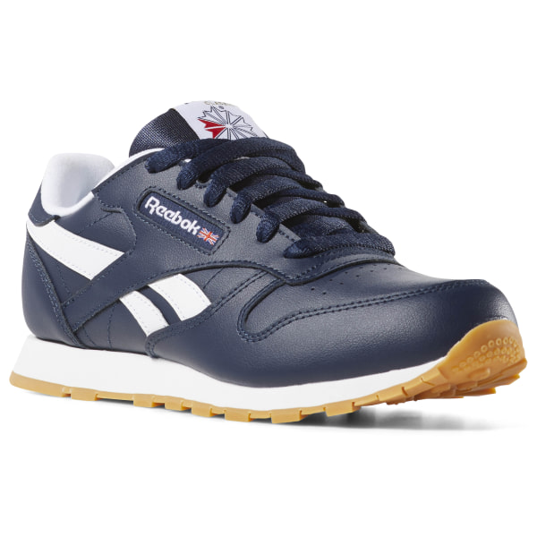 3831cc36edb Reebok Classic Leather - Grade School - Blue