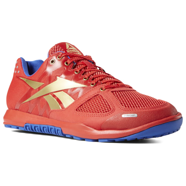 a8d36321e717 Reebok CrossFit Nano 2.0 Red   Cobalt   Gold   White DV5758