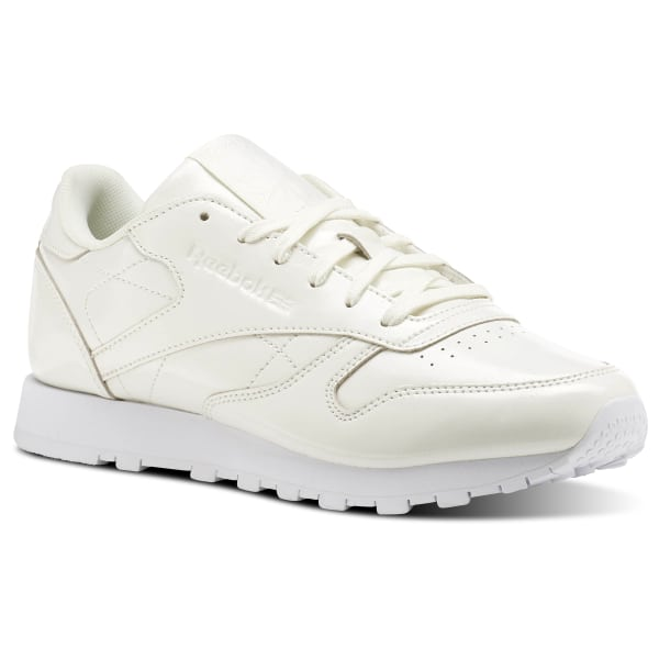f3d64c72a51 Reebok Classic Leather PATENT - White