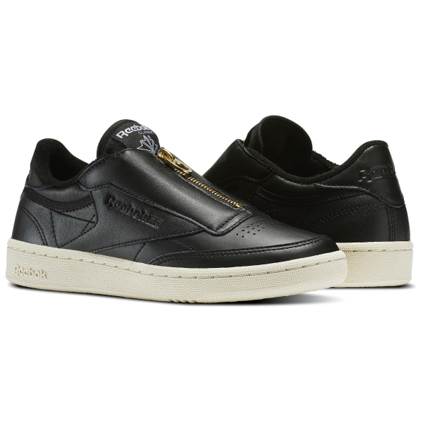 2cb2a28aee3eb8 Reebok Club C 85 Zip - Black