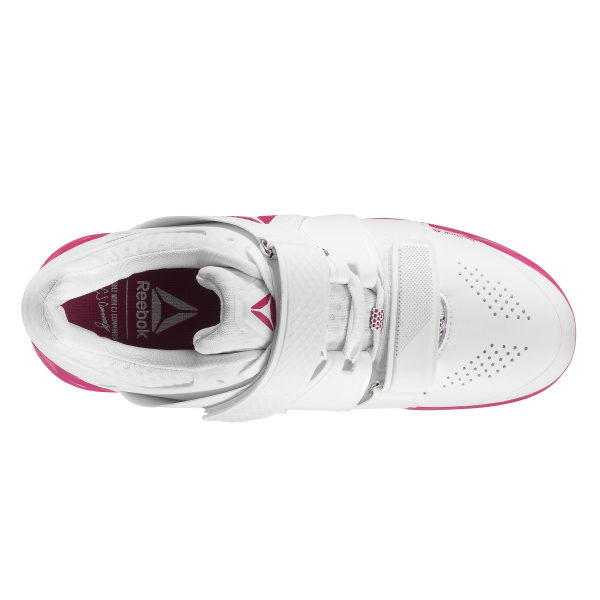21ac0f10612bcb Reebok Legacy Lifter Cfg-White Rugged Rose Silver CN8398