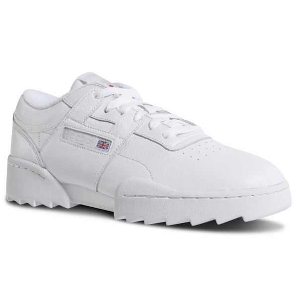 Reebok Workout Lo Ripple - White  a0d1baa65