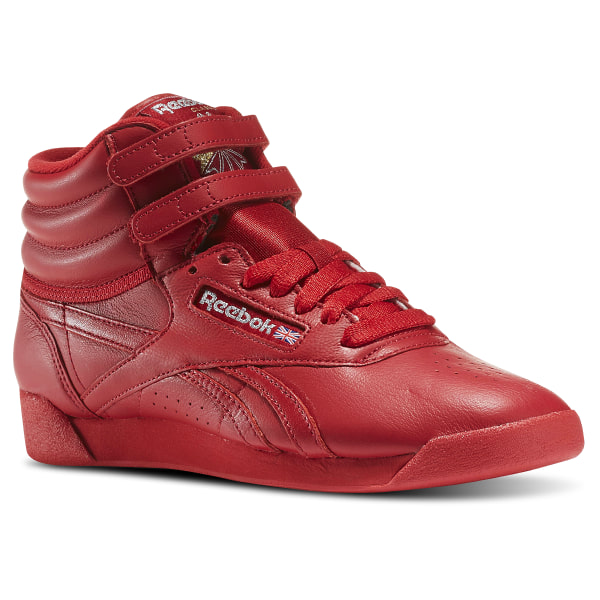 f0979c16a80 Reebok Freestyle Hi Og Lux - Red