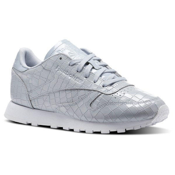 ff0f8e0477a93 Reebok Classic Leather Crackle - Grey