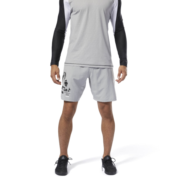 5544fadfbd433 Reebok Training Epic Lightweight Shorts - Grey