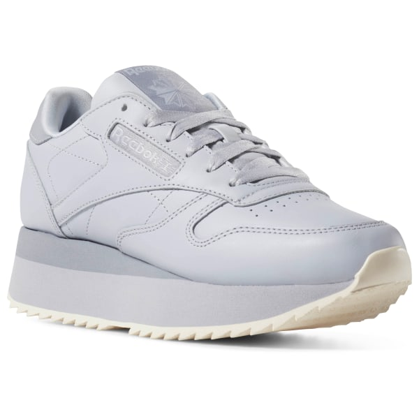 41a7db61e12 Reebok Classic Leather Double - Grey