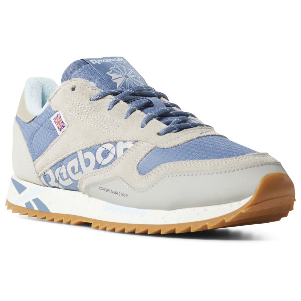 257b9296ccb10 Reebok Classic Leather Ripple Altered - Blue