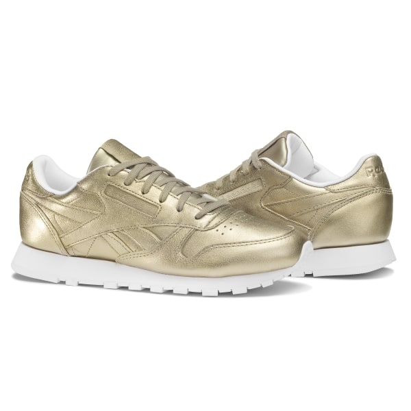 Reebok Classic Leather Melted Metals - Gold  f752a772c
