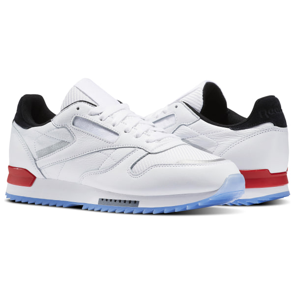 595298ab512 Zapatillas Classic Leather Ripple Low BP WHITE BLACK PRIMAL RED ASTEROID  DUST-