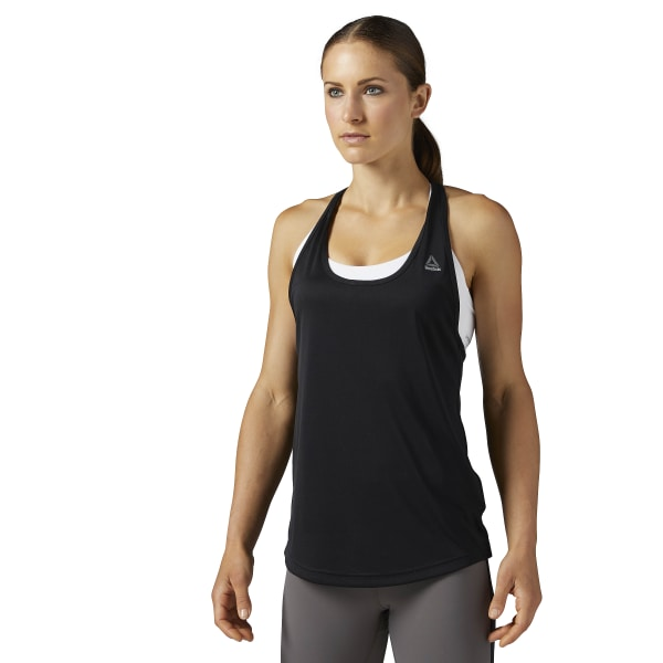 Reebok Performance Mesh Tank - Black  05335e7d386