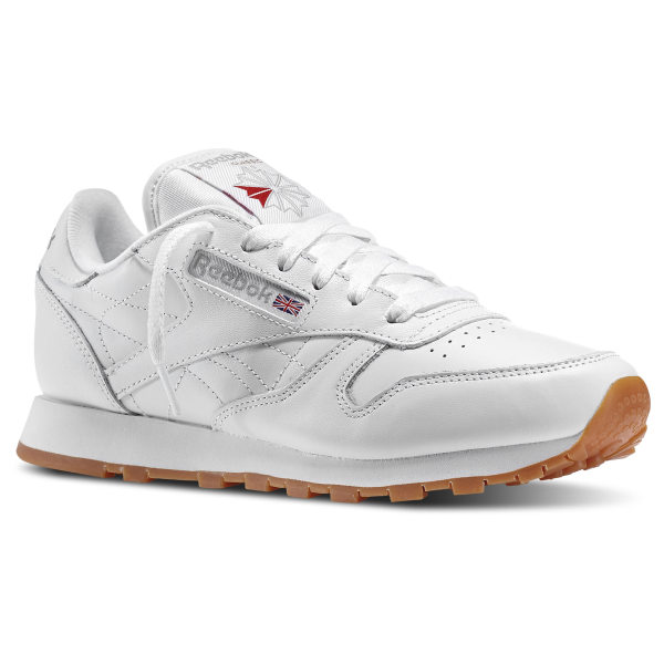 8307488b811f81 Reebok Classic Leather - White