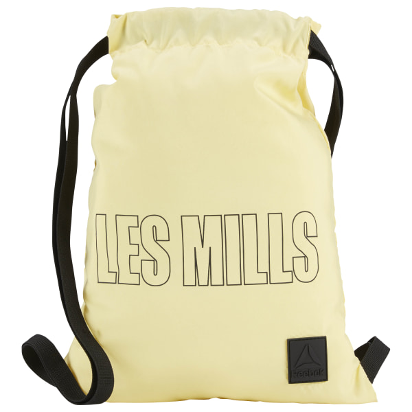 LES MILLS® Gymsack Filtered Yellow DX0027 35c5278515d