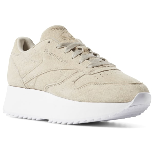 71af3150b0fe7 Reebok Classic Leather Double - Beige