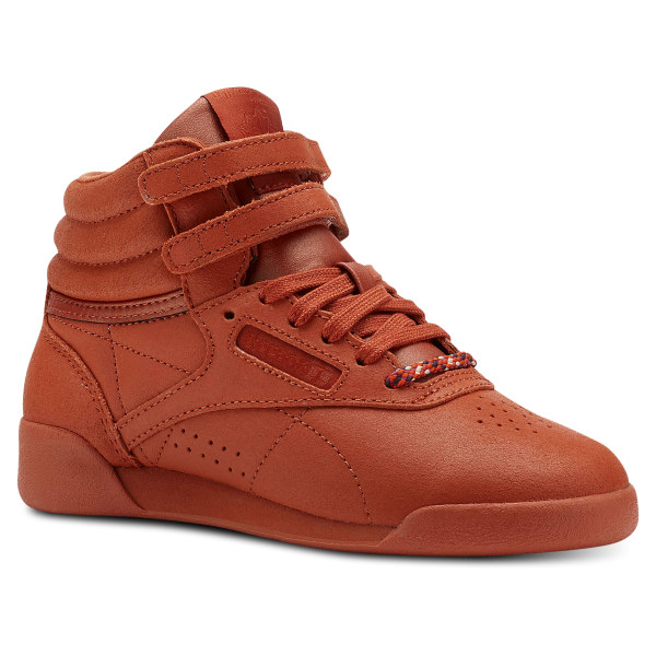 6bc44ebcec7224 Reebok Freestyle Hi FACE Stockholm - Pre-School - Brown