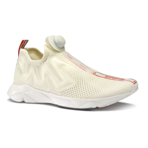 1591d9851f841 Reebok Pump Supreme Jacquard Tape - White