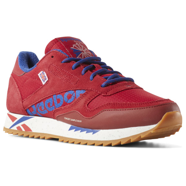 Reebok Classic Leather Ripple Altered - Red  f73ad820b