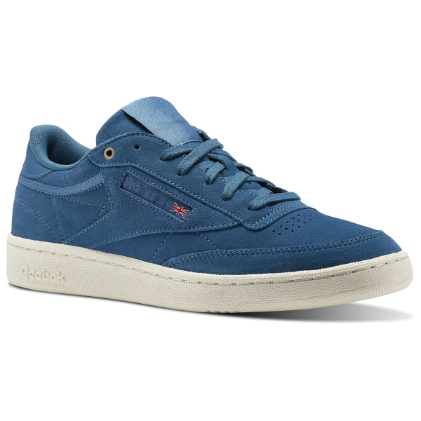 4526cc97becf5 Reebok Club C 85 Montana Cans collaboration - Blue