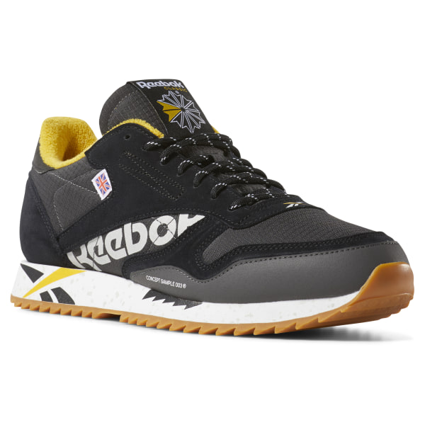 e6ddcf5c171 Reebok Classic Leather Ripple Altered - Black