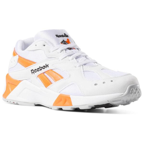 8c7d8085306 Reebok Aztrek Enh-White   Black   Solar Orange CN7472