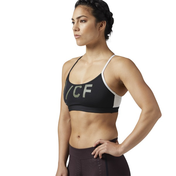 8b60d6758c Reebok REEBOK CROSSFIT STRAPPY SPORTS BRA - Black ...