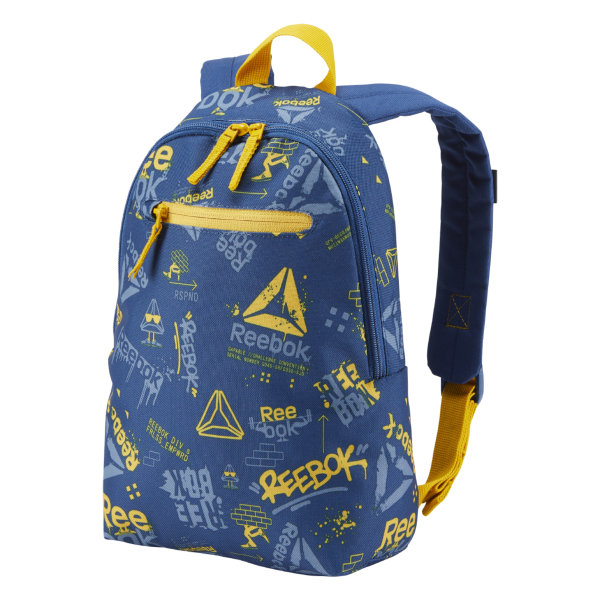 Reebok Kids Unisex Small Graphic Backpack 2 - Blue