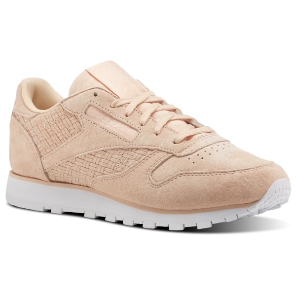 5624577aead Reebok Classic Leather Woven EMB - Pink