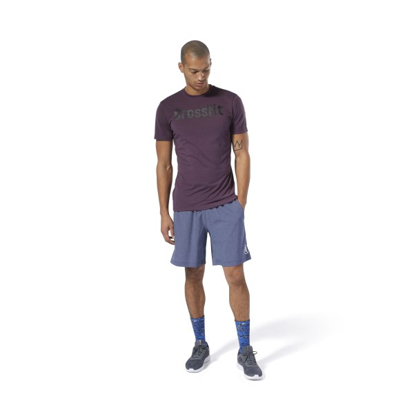 cd9e19216ce Camiseta Reebok CrossFit SpeedWick F.E.F. Camiseta Graphic Urban Violet  DT2776