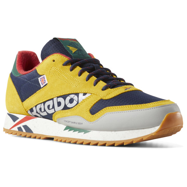 Reebok Classic Leather Ripple Altered - Yellow  15cfdecbb