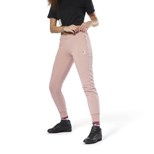 3c6293c74354 Reebok Franchise Fleece Pant - Pink