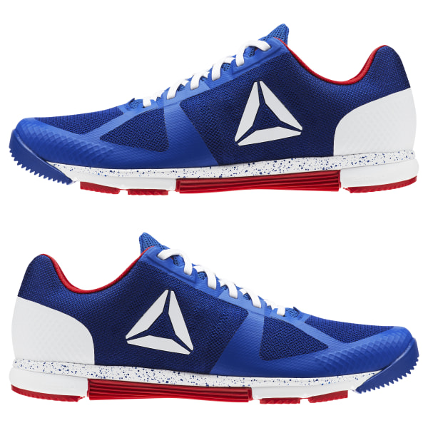 61065fe9aee Reebok CrossFit Speed TR 2.0 Collegiate Royal White Excellent Red CN4535