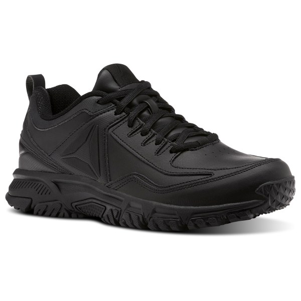 Reebok Ridgerider Leather 4E - Black  4a0b79413