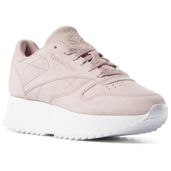bd1e3d4654bcc6 Reebok Classic Leather Double - Red