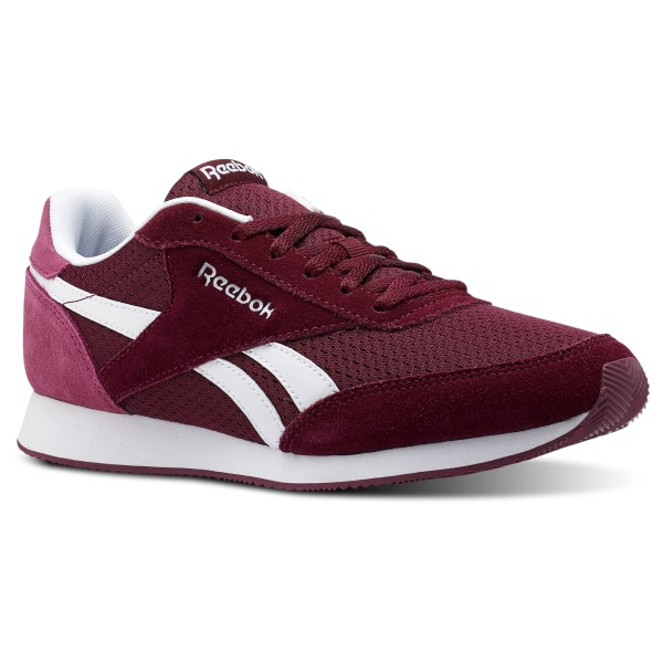 17813ae3a Reebok Royal Classic Jogger 2 Rustic Wine   Twisted Berry   White CN3016