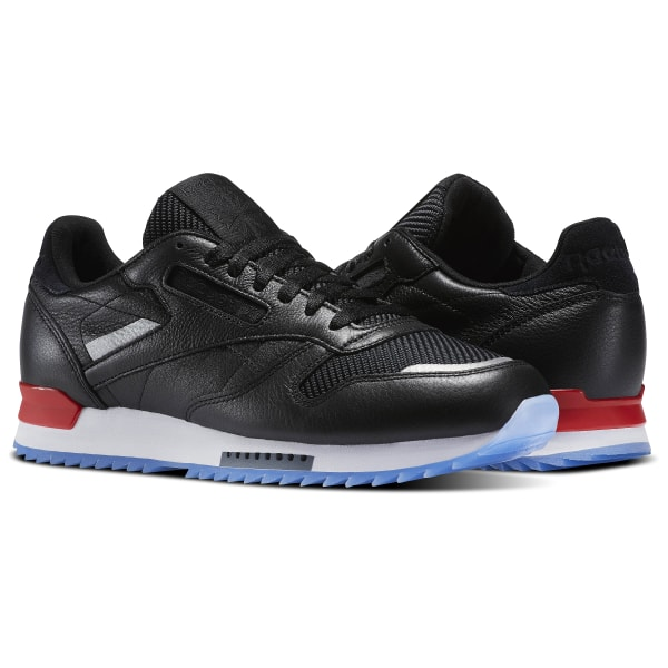 a261e522566 Zapatillas Classic Leather Ripple Low BP BLACK WHITE PRIMAL RED ASTEROID  DUST-