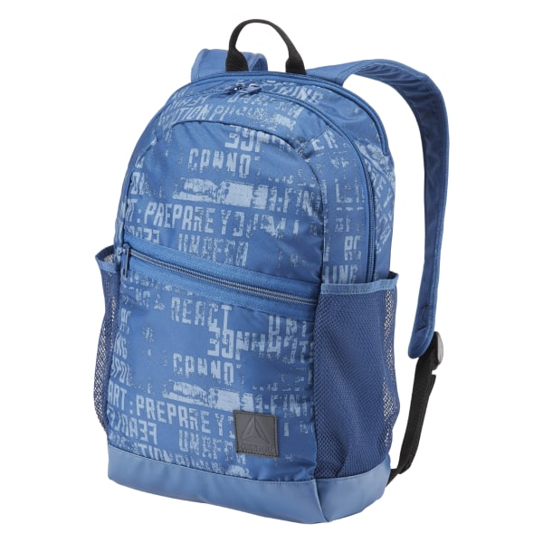 Reebok Style Foundation Active Graphic Backpack - Blue  bb381e320d97d