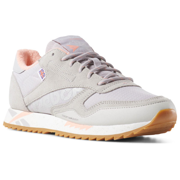 b2f739ac7be68 Reebok Classic Leather Ripple Altered - Grey
