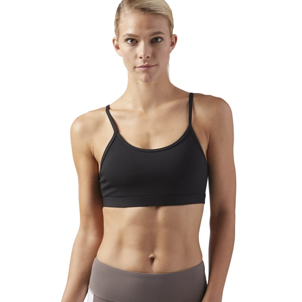 7b2fe928eea58 Reebok Hero Rebel Padded Bra - Black