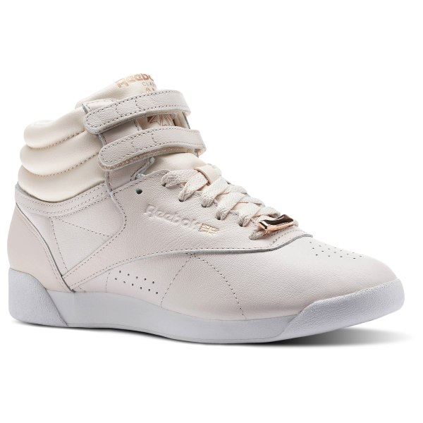 Reebok Freestyle HI MUTED - Pink  3efbe6e76