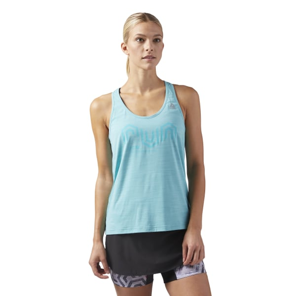 7b6667f34763e Reebok ACTIVCHILL Cooling Tank Top - Turquoise